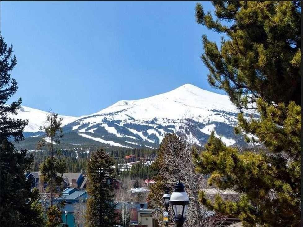 Mountain views from the Bogart House in Breckenridge, Colorado