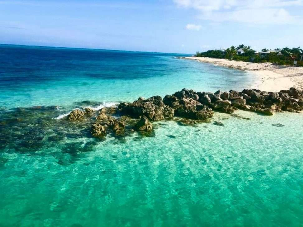 The crystalline waters of Turks & Caicos