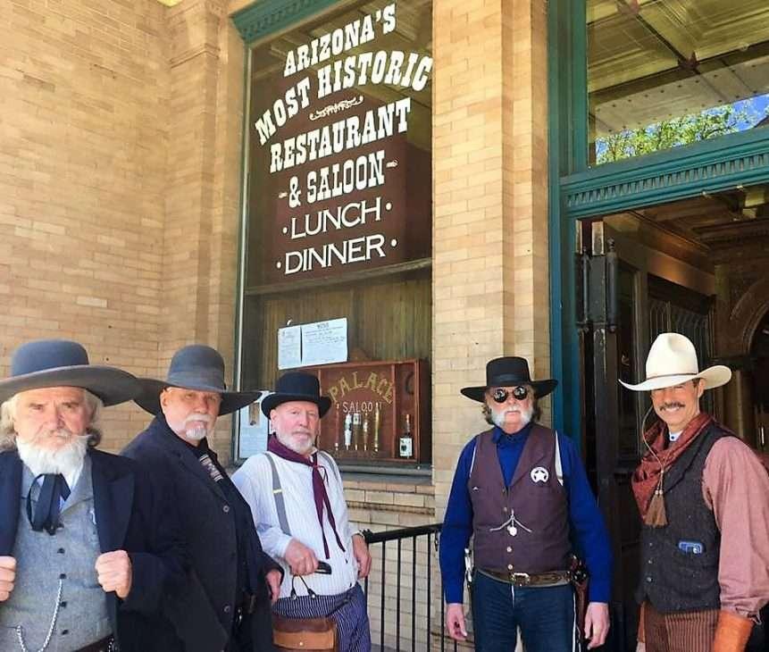 Cowboys in Prescott, Arizona