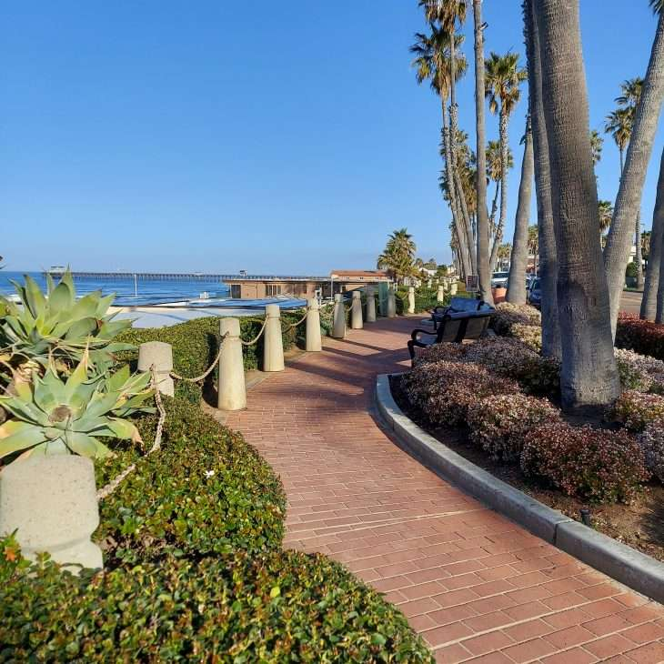 Great view from Oceanside, California