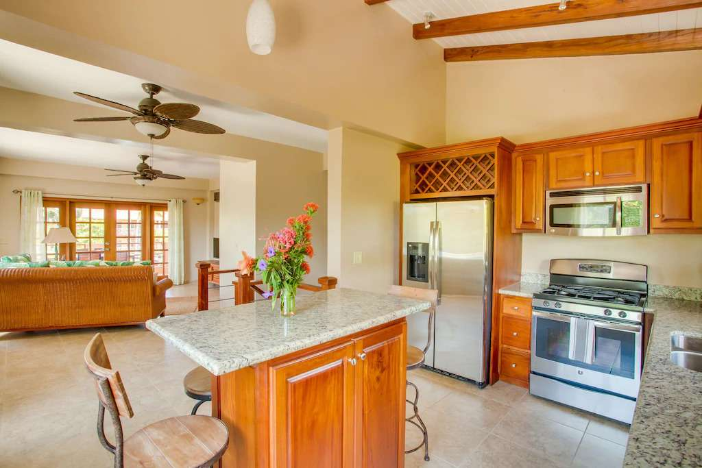 Kitchen of Placencia vacation rental