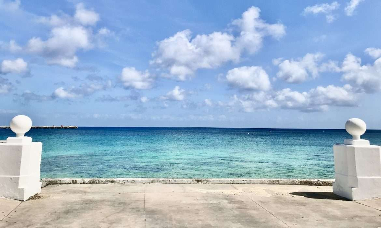 oceanfront view in Cozumel