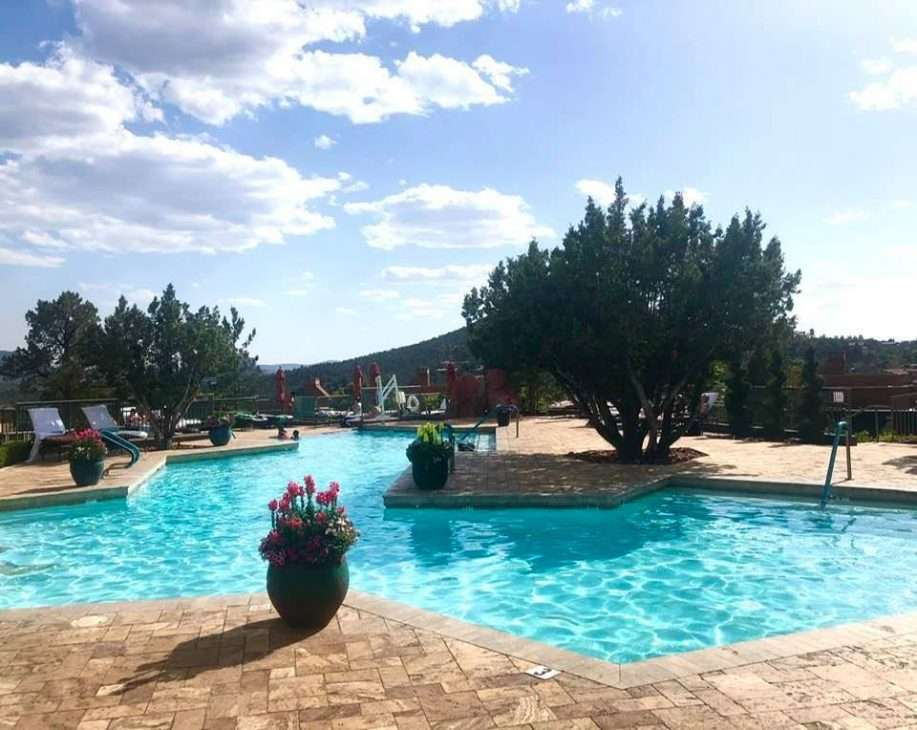 Pool at Hyatt Residence Club Piñon Pointe