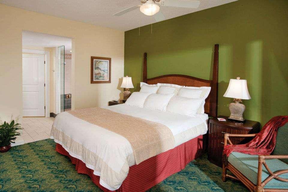 Master bedroom at Marriott SurfWatch in Hilton Head