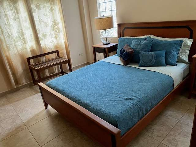 Bedroom in Placencia, Belize townhouse vacation rental