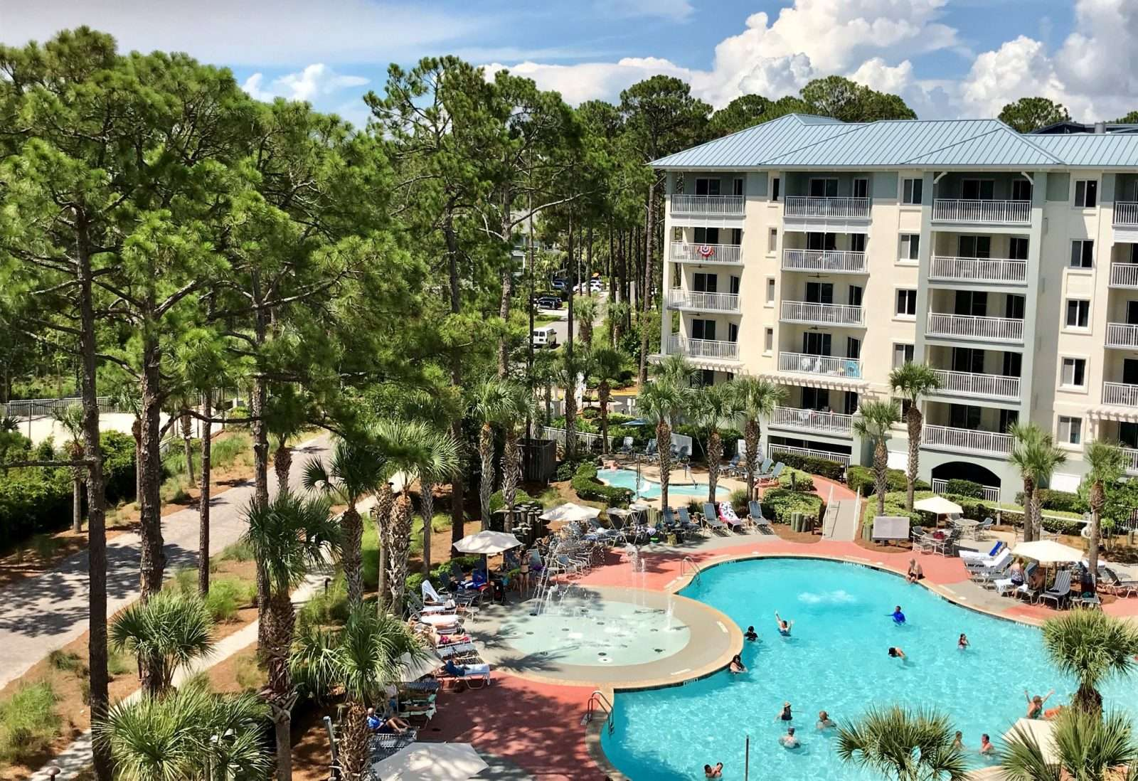 The exterior of SurfWatch, a vacation club rental in Hilton Head