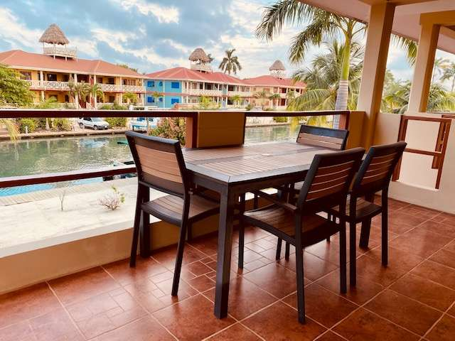Balcony of Placencia vacation rental