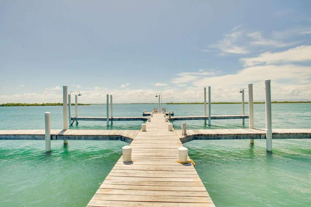 Dock at Placencia vacation rental