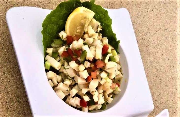 Conch Ceviche at Ocean Club East