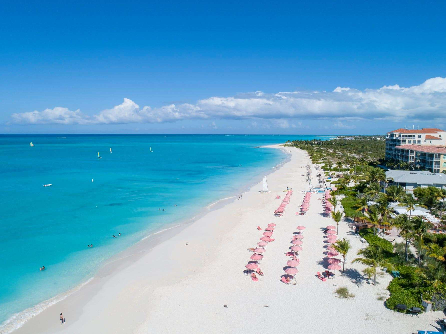 Ocean Club on Grace Bay Beach in Turks and Caicos