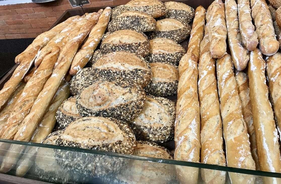 variety of breads in Puerto Morelos