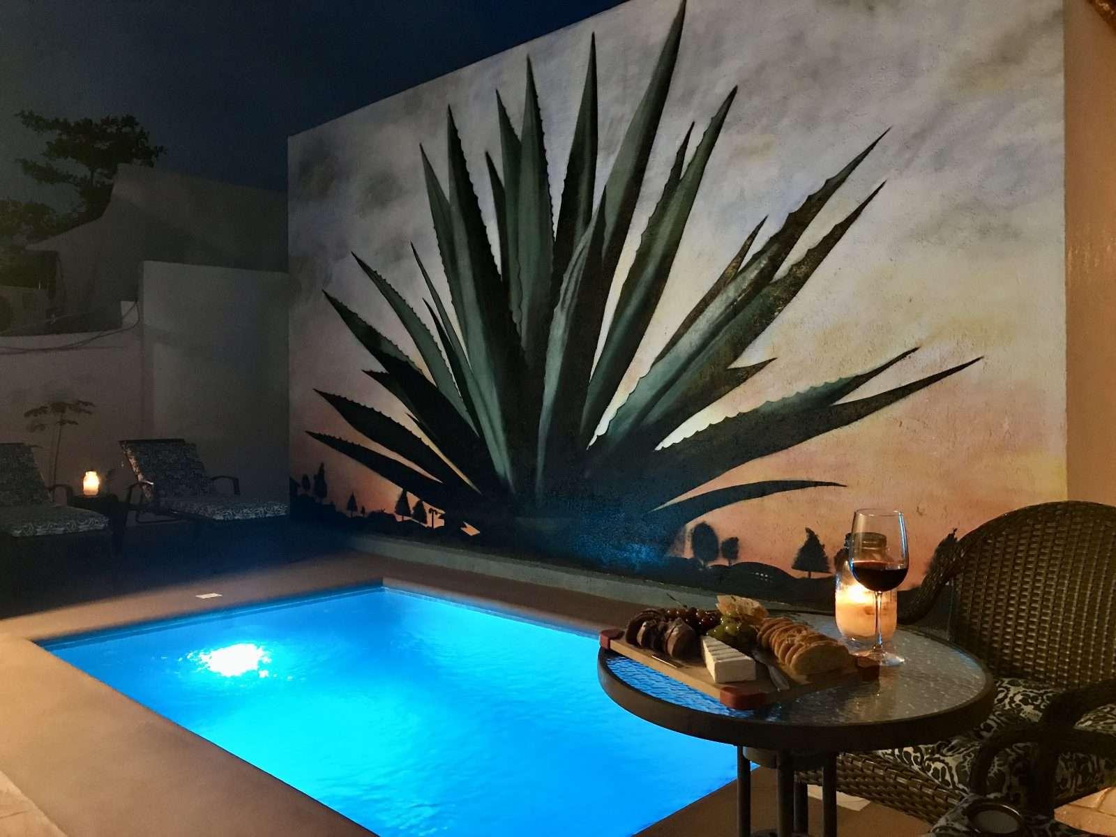 Vacation rental in Puerto Morelos, Mexico